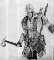 Assassin's Creed - Connor Sketch. by Vis-al-Ghul
