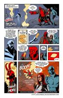 TLIID 160. Hellboy Twinkies ad by AxelMedellin
