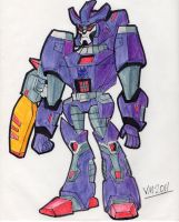 TRANSFORMERS ANIMATED: GALVATRON by VectorMagnus2011