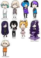 .Chibi Character Page. by VerticalForklift