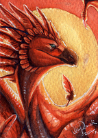 ACEO Tevanos by ShadeofShinon