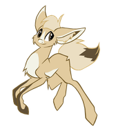Fennec pony adoptable -Auction- CLOSED by Fluffomaru