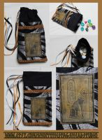 Luxury Bastet (Cat) Pouch: For Tarot, Dice, Runes by ImogenSmid