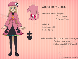 Suzume Firudo (Referencia)-OC by Panhuahua24