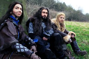 The Hobbit Cosplay - The Line of Durin by Murdoc-lein