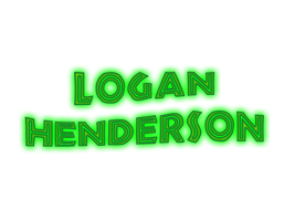Logan Henderson Text PNG by SuperstarElevate