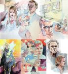 Films: Pencil and Marker by taho
