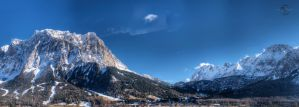 Zugspitze Mountains by Creative--Dragon