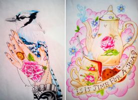 Tattoo Designs by LadySayuri