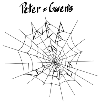Peter and Gwen's Web of Letters by AlexIsMehNme