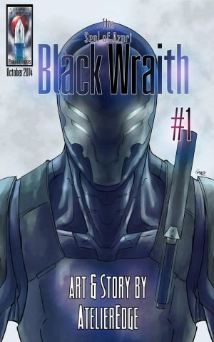 The Seal of Azari: Black Wraith #1 by AtelierEdge