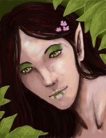 The Leaf Lady by ladindequichante