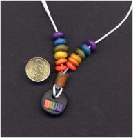 Rainbow Necklace by Samivil