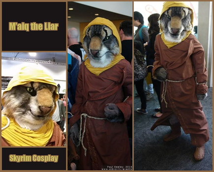 M'aiq the Liar cosplay by Endivinity