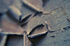 closeup of rusted paint - 3 by alcohobo