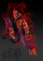Evil Ryu- street fighter 4 by Jackywang