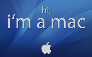 i'm a mac wallpaper by JurjenSleebos