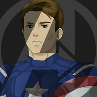Avengers: Captain America by darthfilart