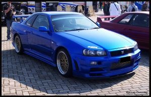 2001 Skyline  R34 GT-R V-Spec by compaan-art