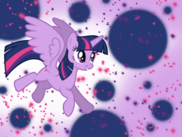 Twilight Sparkle Wallpaper by BirdE-3