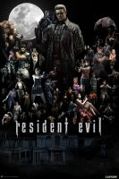 Resident Evil Saga Poster by the-hero-of-time28