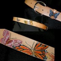 Butterfly Belt by larrysleather