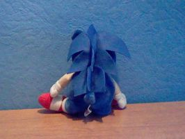 Sonic Plush 1993 back by DarkGamer2011