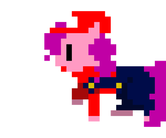 Retro Pony Pixels : Super Pinkie Bros. by Zztfox