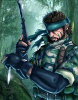 Jungle Snake...by The-Switcher by metalgearsolidfans