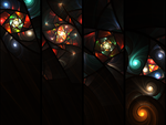Quadriptych by RationalParadox