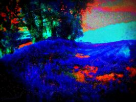 Blue Gras by robertfeateckbert