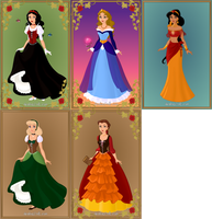 Mothers of Disney Princesses by Zinegirl
