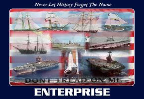 Never Let History Forget The Name Enterprise by dragonpyper