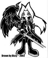 chibi KH Sephiroth by dizziness