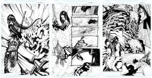Bullet Witch Pages 09, 10, 11 by Sandoval-Art