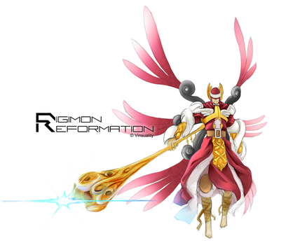 Digimon Reformation - ClavisAngemon by Vinsuality