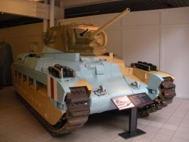 Matilda II Tank at the Imperial War Museum by rlkitterman