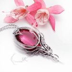 EXEERVINTH AQTURX Silver and Ruby Quartz by LUNARIEEN