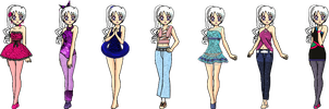 Ilya Outfits Improved by Lyra-Elante