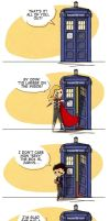 Doctor Who/Avengers mashup by flatbear