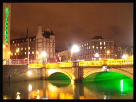 Dublin at Night by Foto-Tour