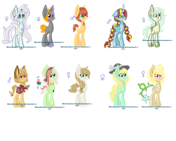 My Ponies W. Bases Page 1 by Sarahostervig