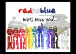 We'll Miss You Red vs Blue by The-Flying-Penguin