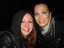 Me with Tarja Turunen by GuardianOfShigeru
