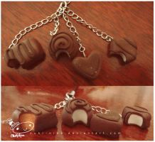 chocolate keychain by nuki-nina
