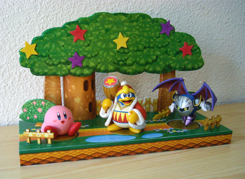 Expanded Dreamland 64 amiibo display stand by NBros