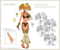Alolina -reference by LoRd-TaR