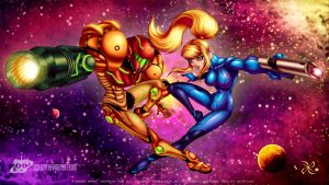 Samus Aran - Facets of a Hero by scificat