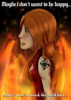 Burning by LittleChiChi