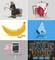 SALE for my available tees! by Naolito